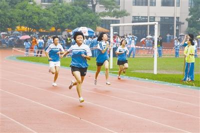 珠海一中校运会 全由学生