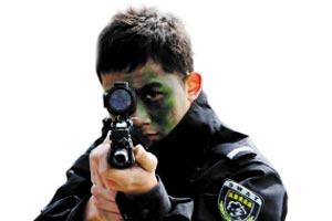 浙江警方首次向社会招15名狙击手13名排爆手