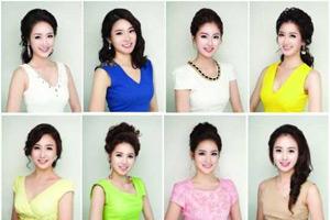 韩国小姐候选人撞脸 网友:整容是团购的