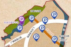 金沙洲将规划7座公共停车场
