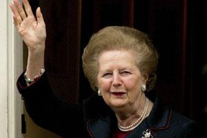英国前首相撒切尔夫人逝世