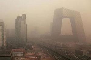 中国四分之一国土现雾霾 近半数国人受影响