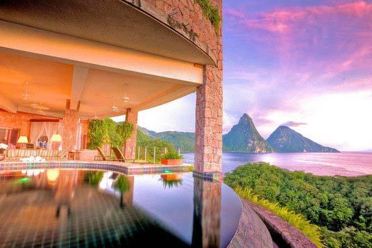 酒店窗外最美风光 给你一片天堂
