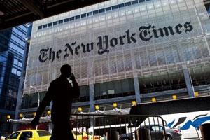 《纽约时报》转型:原地奔跑求出路 数字付费大幅增长