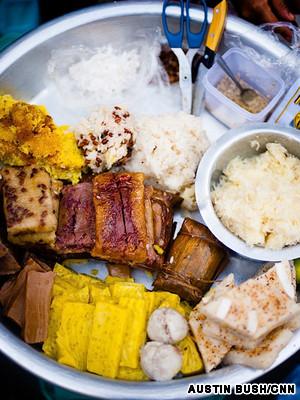 甜品小吃   不像西方的甜点,缅甸的甜点(统称为moun)并不单...