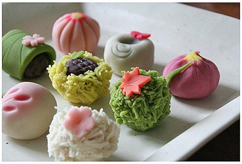 日本传统点心和果子