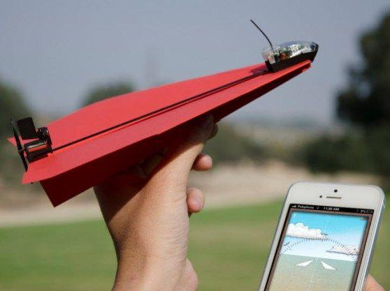 纸飞机控制套件:用智能手机遥控纸飞机