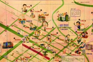 跟手绘地图寻找香港新老手作人