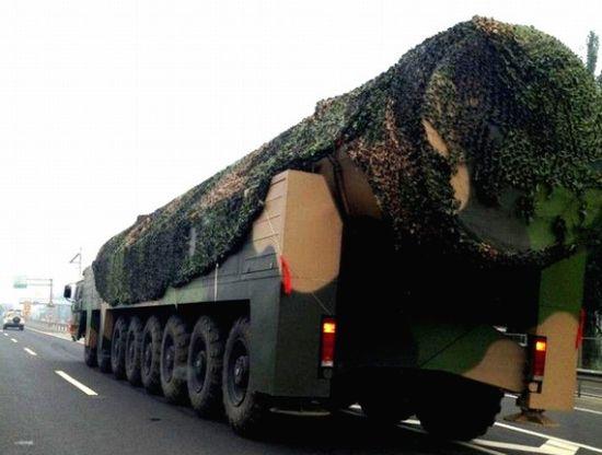 外媒:中国提升核战略能力 令美国感到不安
