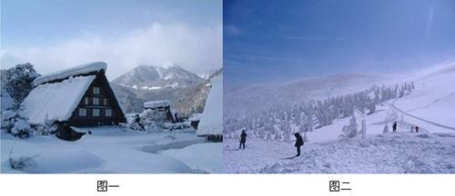 看《爸爸去哪儿》冬日应到日本旅游领略异国雪景(组图)