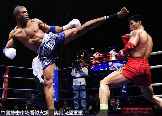 中国职业搏击三部曲现状篇 搏击赛夹缝中生存