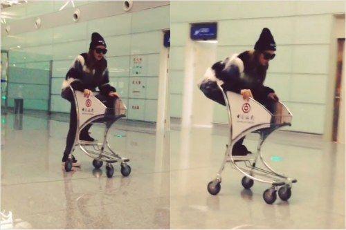 miss A成员Jia机场视频引非议 今做正式道歉
