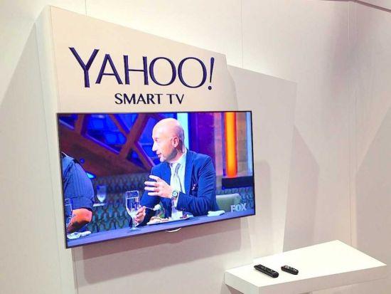 雅虎发布智能电视平台 与三星结盟