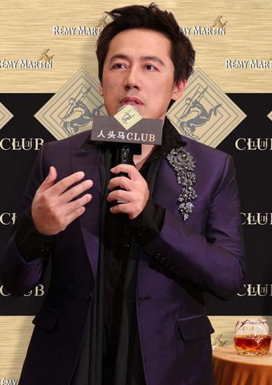 张宇:入行20多年没传绯闻 不敢和太太吵架