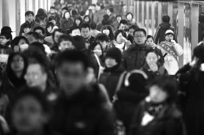 北京地铁涨价或给上班族打折 有建议按距离涨价6元封顶