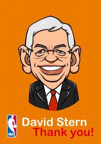 漫画:感谢斯特恩 卡通版总裁表情搞笑图片
