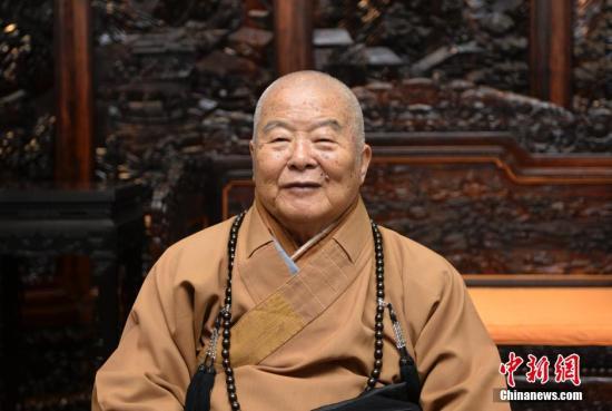 台湾星云法师预立遗嘱 全捐财产2000万台币