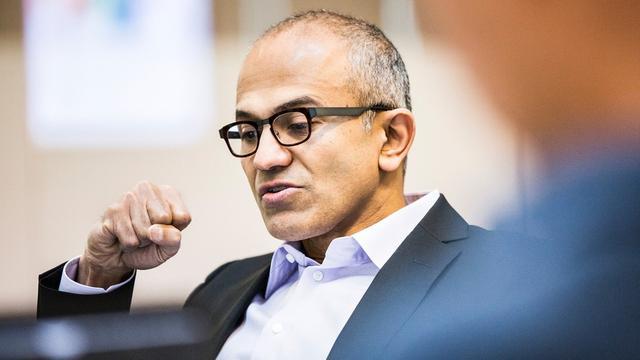 微软新CEO持股仅为鲍尔默的三百分之一