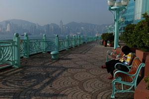 欣赏维港,去红磡海滨长廊足矣