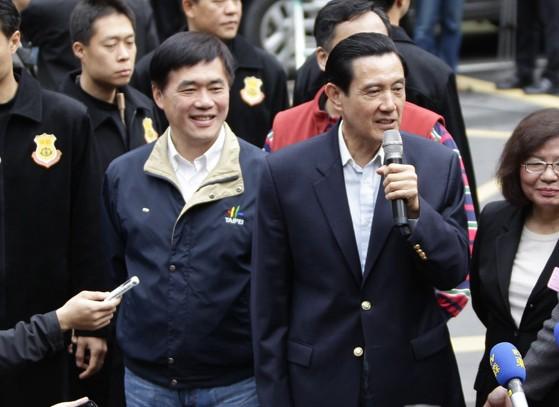 郝龙斌回应马英九:我会扛起台北选举的成败责任