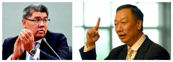 郭台铭力挺连胜文参选 称其懂经济不像政治人物