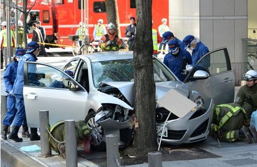 日本名古屋交通事故致13人伤 嫌犯:想杀死他们