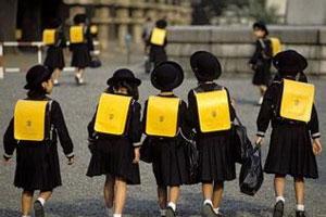 日本小学生的一天