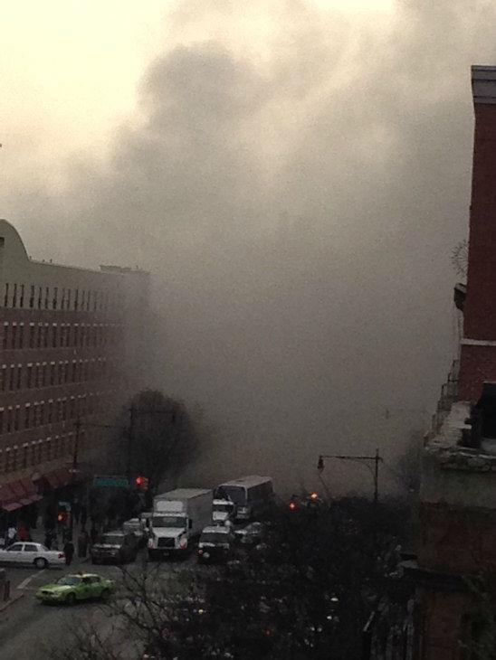 纽约曼哈顿楼房发生爆炸 至少11人受伤(组图)