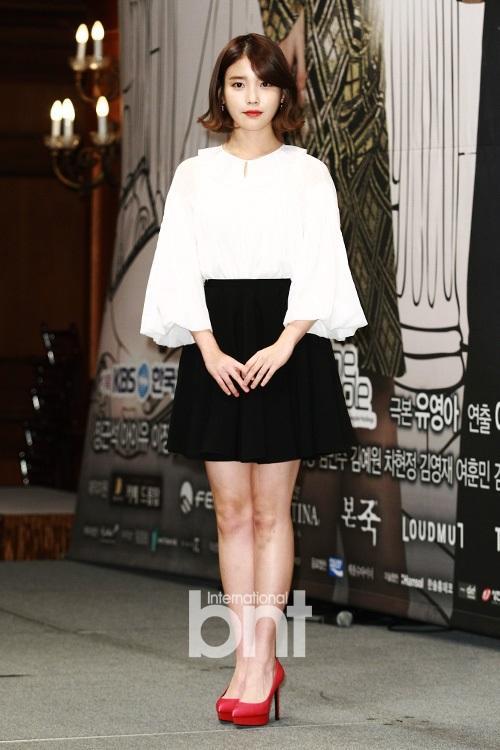 IU承认与申凤善撞脸 称f(x)雪莉是韩最美女星