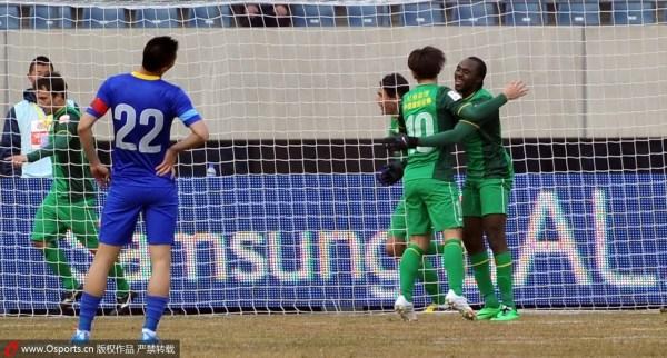 中超-张稀哲助攻巴塔拉破门 国安客场1-0阿尔滨