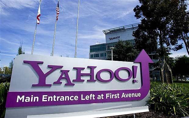 雅虎早盘上涨3% 受益于阿里巴巴启动IPO