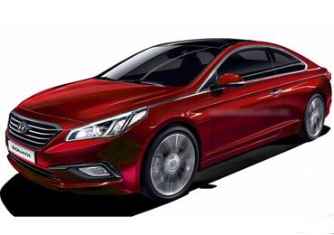 新一代索纳塔Coupe预览 韩式气质型男