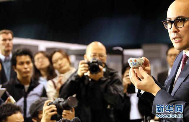明成化斗彩鸡缸杯刷新中国瓷器拍卖新纪录