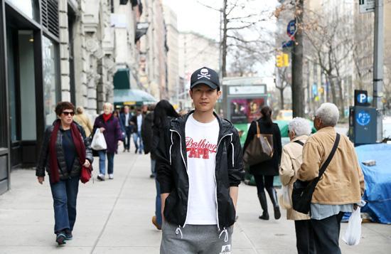 """陈楚生纽约接受采访 称""""沉思""""是为走更远的路"""