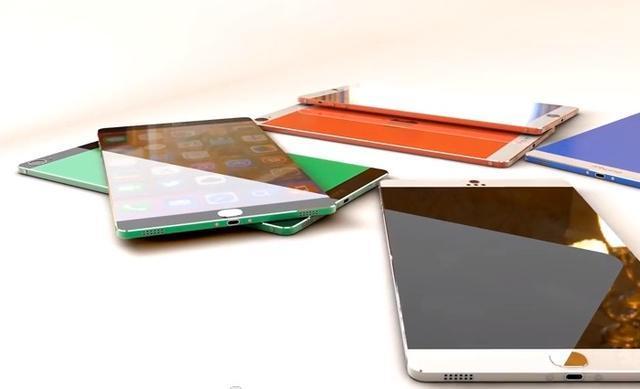 iPhone 6概念图:侧滑式5英寸双显示屏