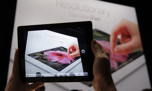 今年第一季度苹果iPad销量或出现同比微降