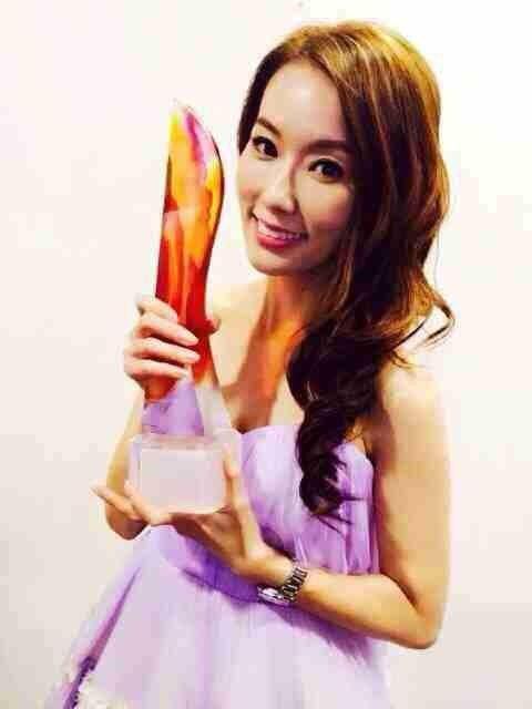 林湘萍出席红星大奖 拿下中国地区最受欢迎奖项