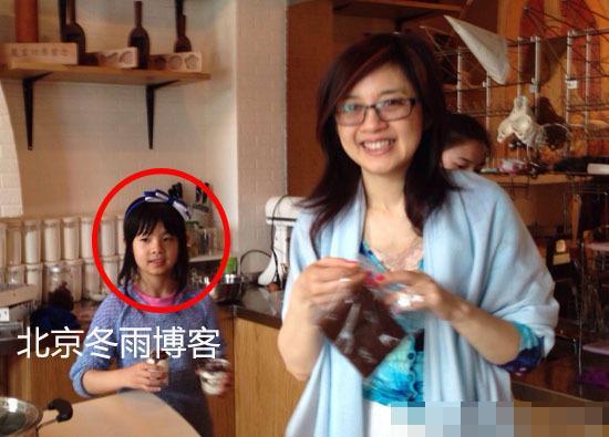 凤凰卫视女主播许戈辉9岁女儿近照曝光(图)