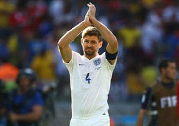 杰拉德宣布退出英格兰队 14年114次出场历史第3