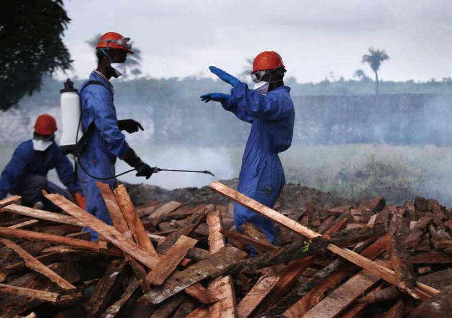 防御埃博拉