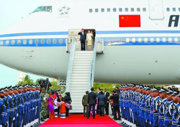 """马尔代夫将建""""中马友谊大桥"""" 习近平:支持建设"""