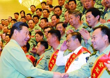 习近平:建设新型司令机关