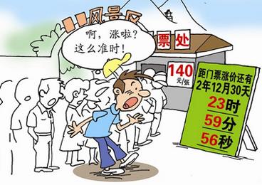 罗天昊:中西部景区门票价该不该涨?