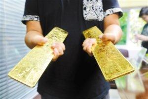 粗心男丢失5.7公斤黄金 机场物归原主