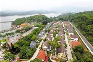 37栋超大别墅群伫立西丽水源保护区