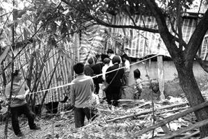 广西8岁女童被囚地窖25天后撬铁链逃脱 疑犯落网