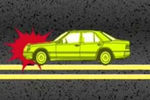 东莞男子半夜蹲马路被撞亡 司机判赔60万元
