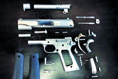 3D打印枪再进一步!能发射7.62毫米子弹