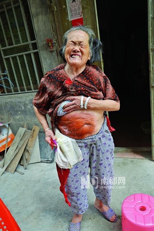 分家闹矛盾 子女推诿养老母图片