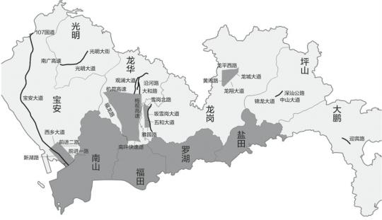 深圳外地车限行范围扩大